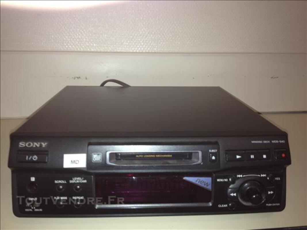 Lecteur enregistreur Mindisc Sony MDS S40 76529524