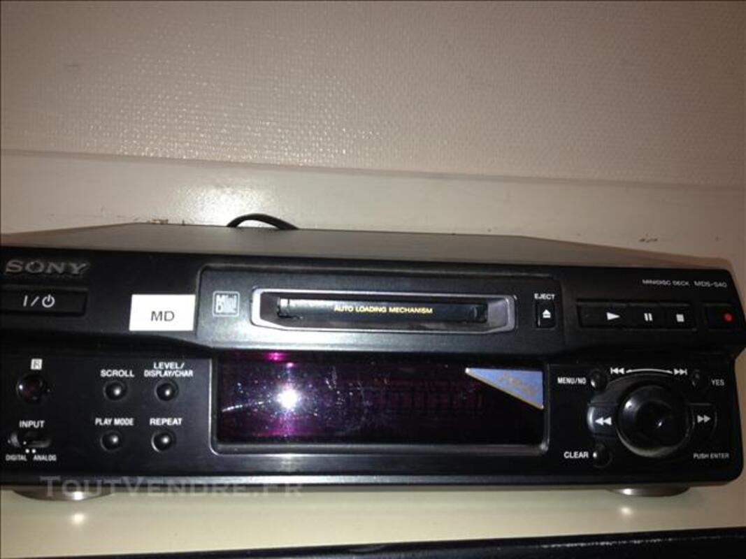 Lecteur enregistreur Mindisc Sony MDS S40 76529552