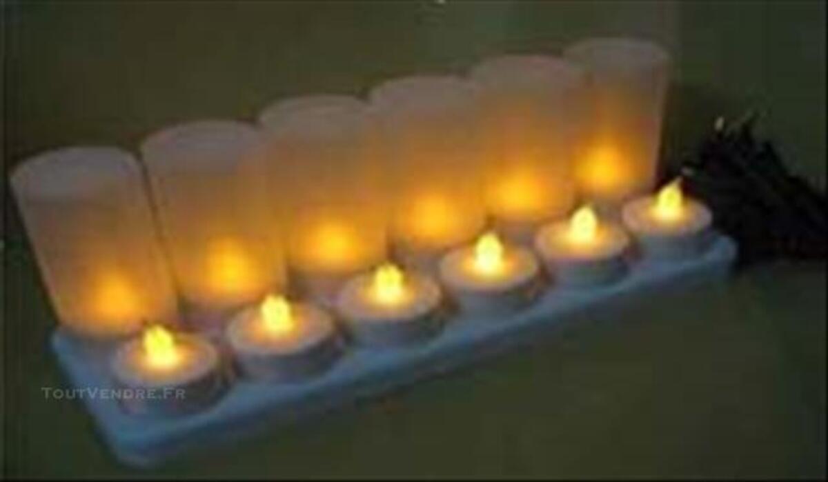 LED électrice rechargeable de Lumière bougie 4cmxH9cm 84750808