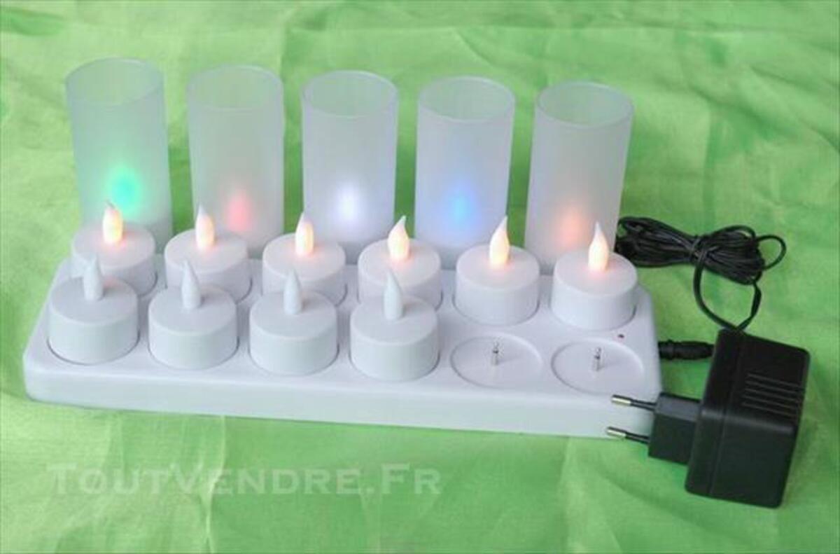 LED électrice rechargeable de Lumière bougie 4cmxH9cm 84750810