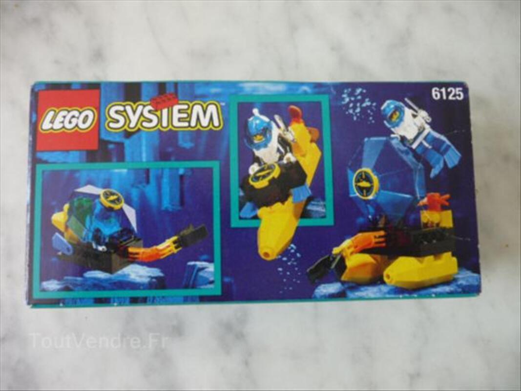 LEGO 6125-SCAPHANDRIER-NEUF EN BOITE 56110321