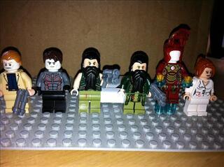 Lego Iron Man Marvel DC Universe Super Heroes