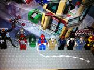 Lego Spiderman Marvel DC Universe Super Heroes