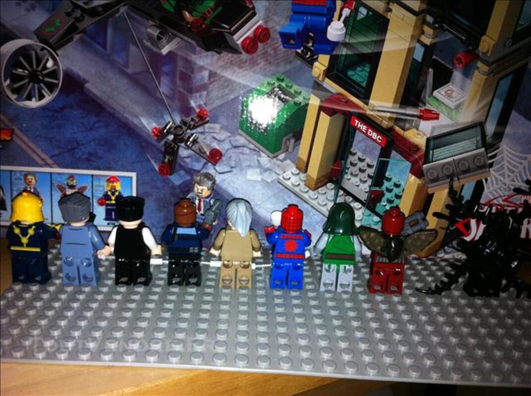 Lego Spiderman Marvel DC Universe Super Heroes 78154545