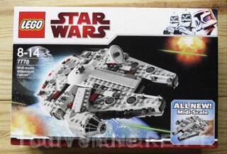 Lego StarWars 7778 Midi-scale Millennium Falcon
