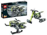 LEGO Technic 42021 2in1 Moto-neige x2 complet + notices très