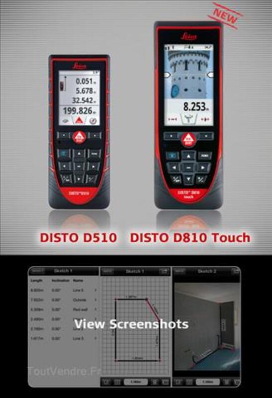 LEiCA DiSTOTM D810 HAUT QUALITE PRO 100432199