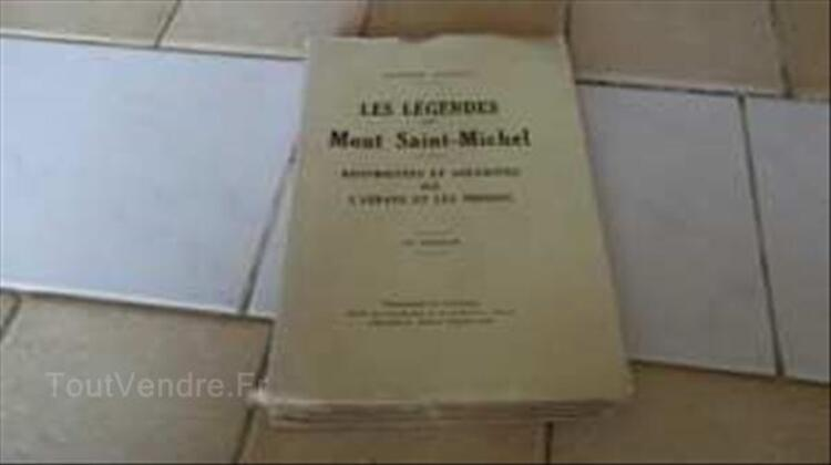 Les légendes du Mont-Saint-Michel 1926 87113203