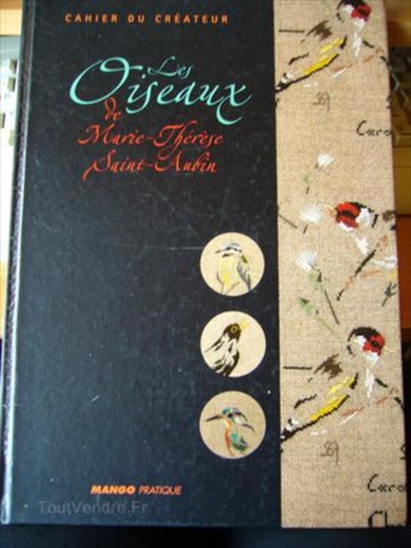 Les oiseaux de Marie-Thérèse Saint-Aubin point de croix 89166333