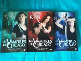 Les Vampires de Chicago, Tome 1, 2 et 3 BIT-LIT