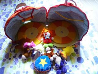 Lilliputiens - le cirque - jouet tissu