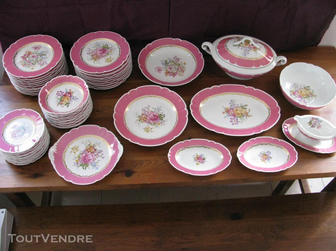 Limoges Les Maîtres Porcelainiers  Limougeaud Rose Pompadour 231128827