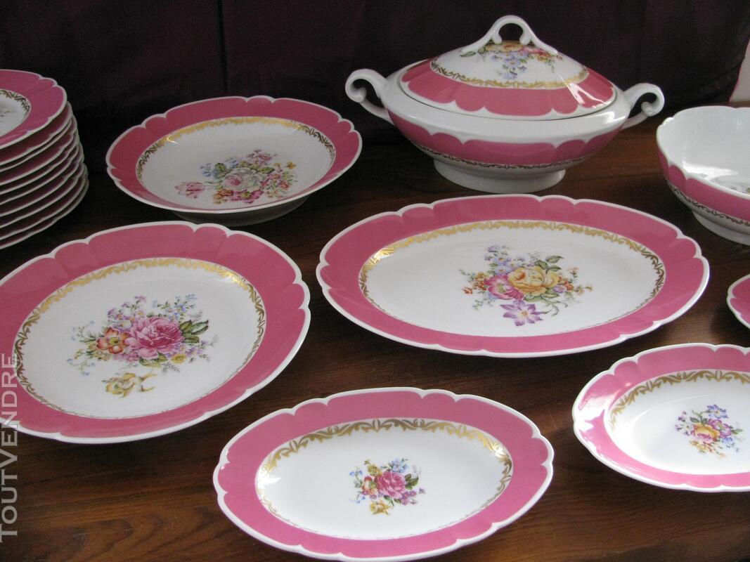 Limoges Les Maîtres Porcelainiers  Limougeaud Rose Pompadour 231128836