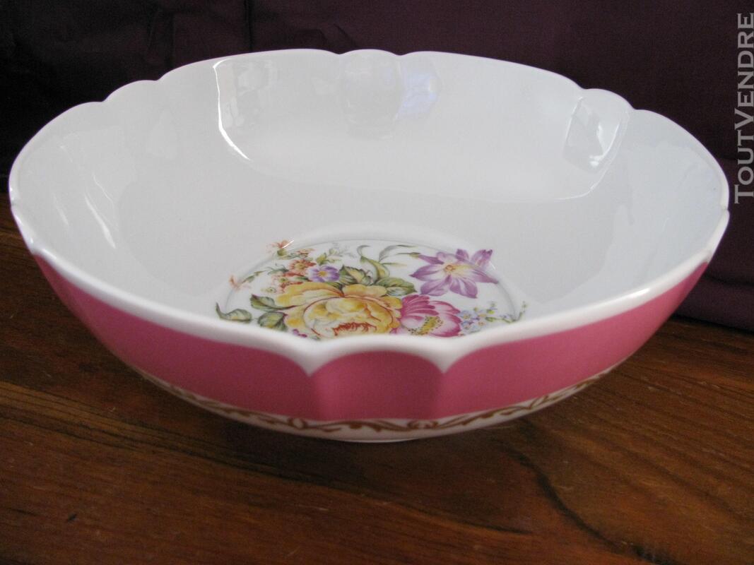 Limoges Les Maîtres Porcelainiers  Limougeaud Rose Pompadour 231128839