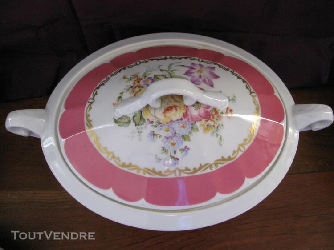 Limoges Les Maîtres Porcelainiers  Limougeaud Rose Pompadour 231128842