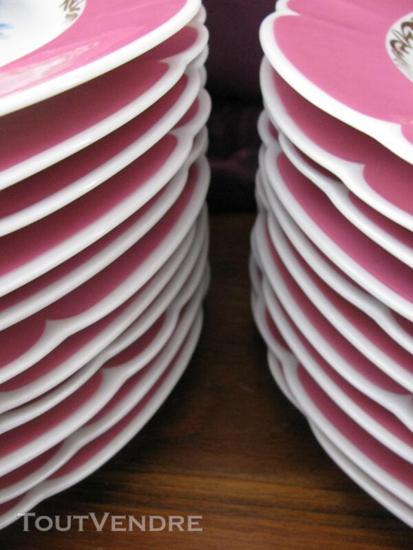 Limoges Les Maîtres Porcelainiers  Limougeaud Rose Pompadour 231128845