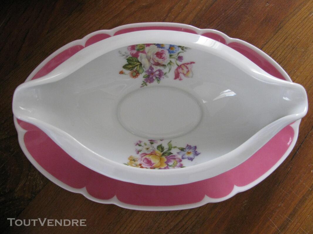 Limoges Les Maîtres Porcelainiers  Limougeaud Rose Pompadour 231128848