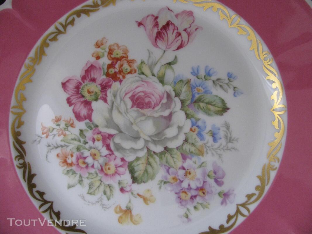 Limoges Les Maîtres Porcelainiers  Limougeaud Rose Pompadour 231128854