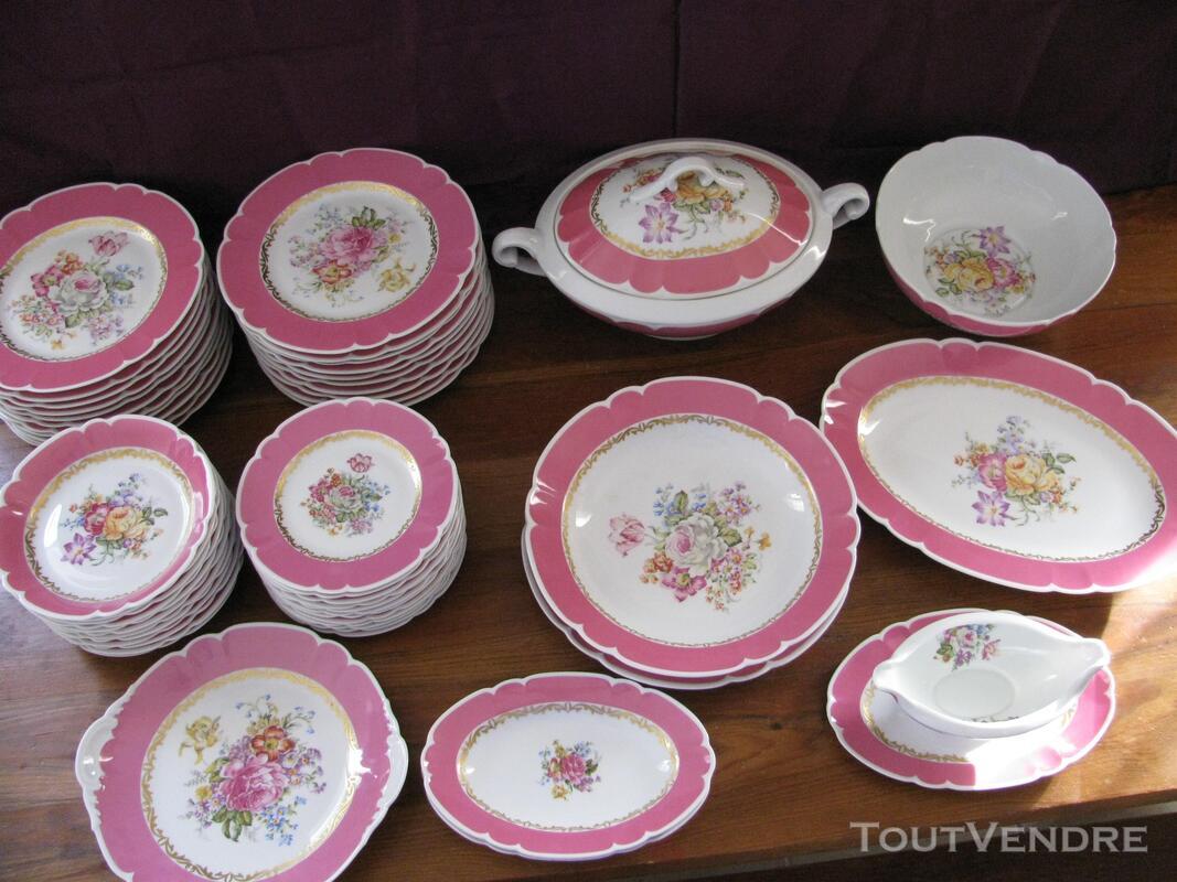 Limoges Les Maîtres Porcelainiers  Limougeaud Rose Pompadour 231128857