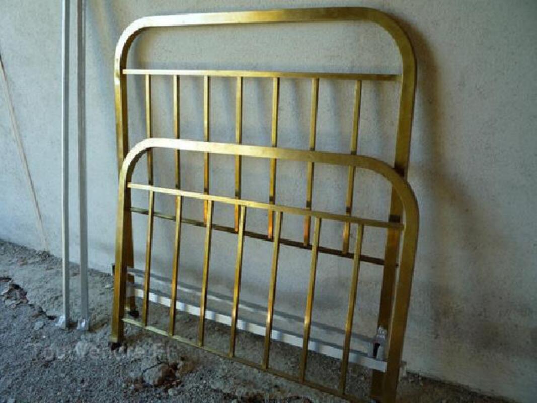 Lit ancien laiton/cuivre déco 90596756