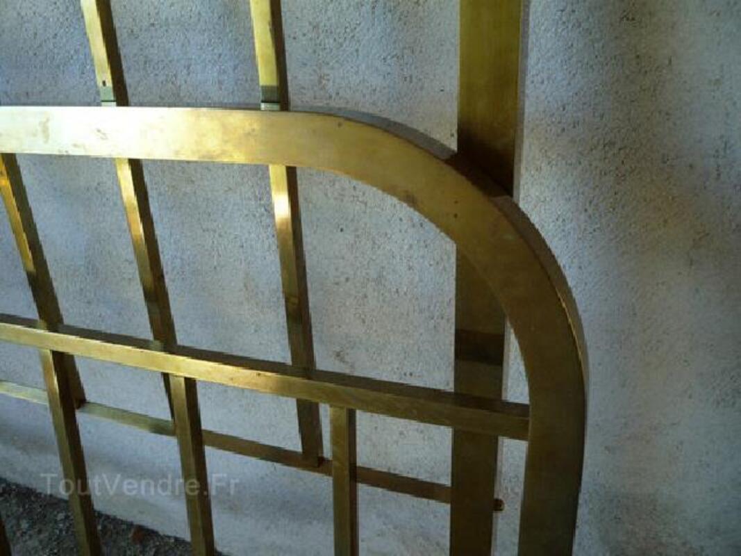Lit ancien laiton/cuivre déco 90596758