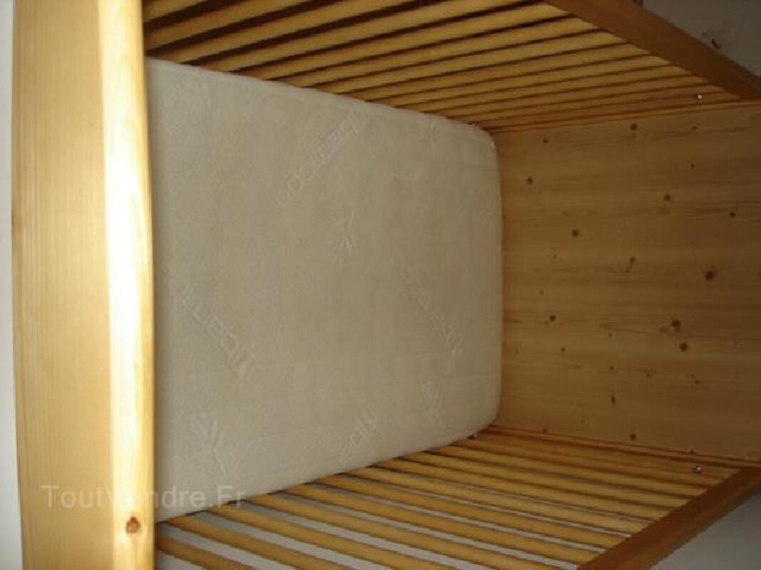 Lit bb avec matelas bambou 91475616