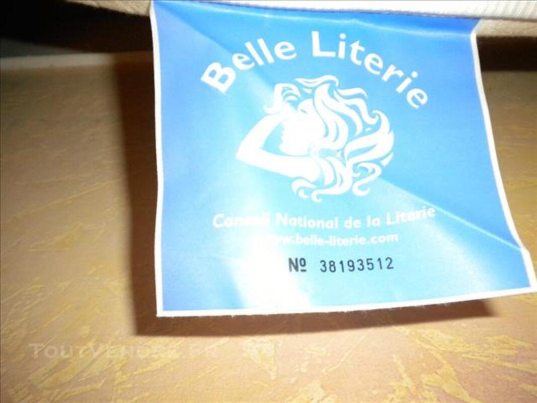 Lit : cadre à lattes et matelas Belle Literie 83102429