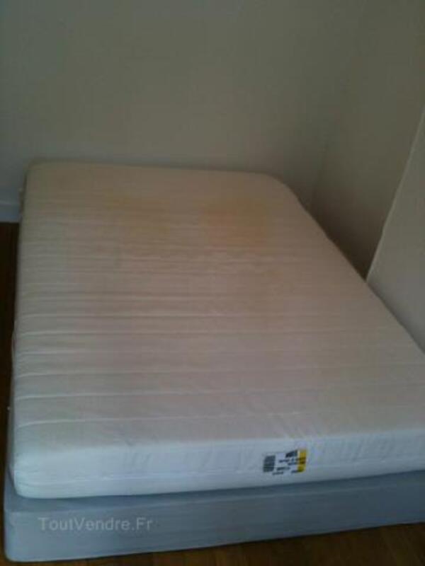 Lit sommier + matelas IKEA Sultan Alfta 140x200 89802992