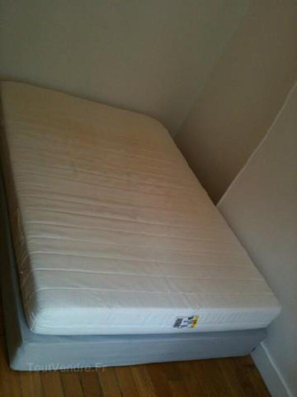 Lit sommier + matelas IKEA Sultan Alfta 140x200 89802993