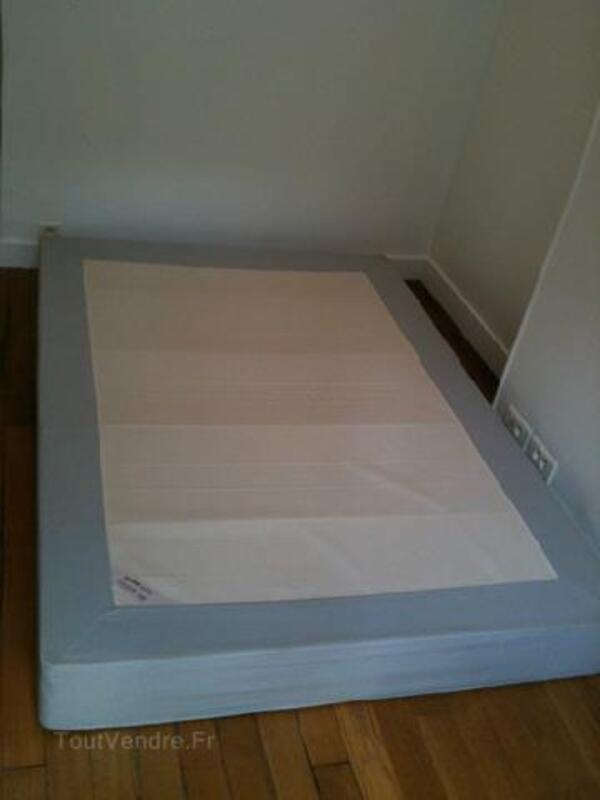 Lit sommier + matelas IKEA Sultan Alfta 140x200 89802994