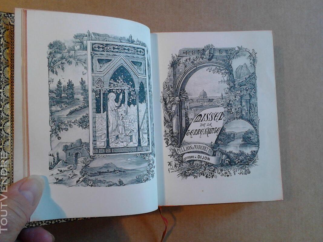 Livre Ancien Missel de La Terre Sainte ART Religion suxn 170686114