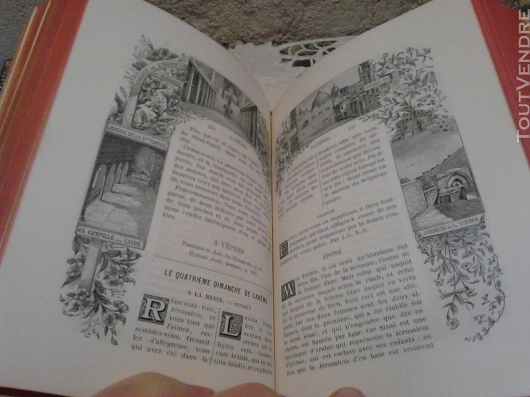 Livre Ancien Missel de La Terre Sainte ART Religion suxn 170686126