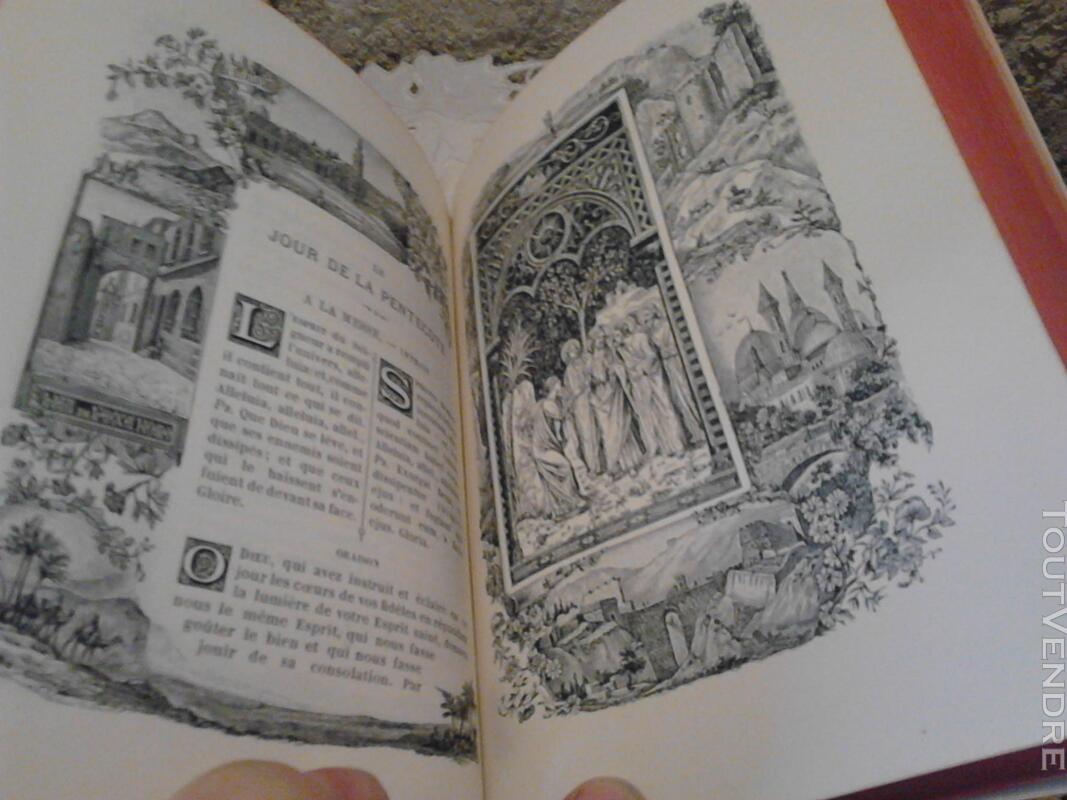 Livre Ancien Missel de La Terre Sainte ART Religion suxn 170686129
