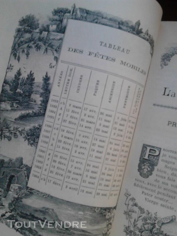 Livre Ancien Missel de La Terre Sainte ART Religion suxn 170987199