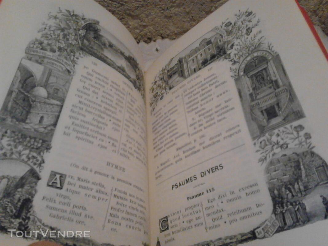 Livre Ancien Missel de La Terre Sainte ART Religion suxn 170987202