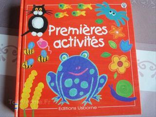 Livre d'activités créatives