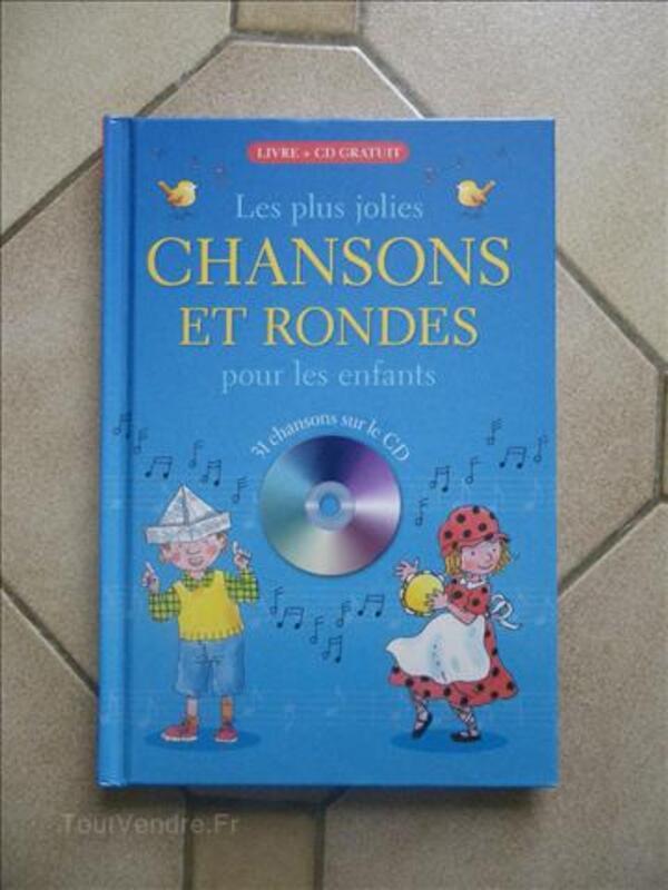 Livre de chansons pour enfants avec CD 71863652