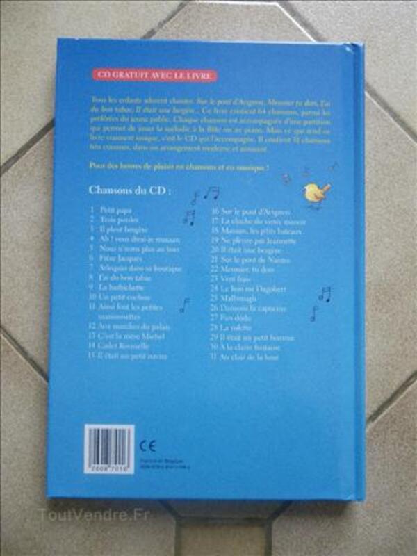 Livre de chansons pour enfants avec CD 71863653