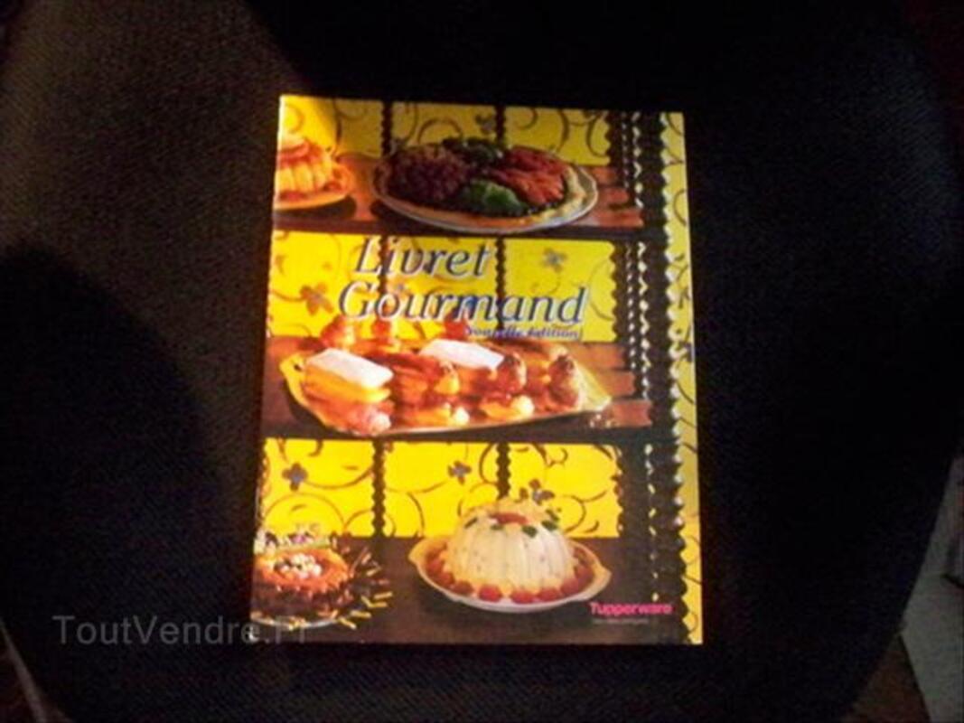Livre de cuisine tupperware livret Gourmand 66118347