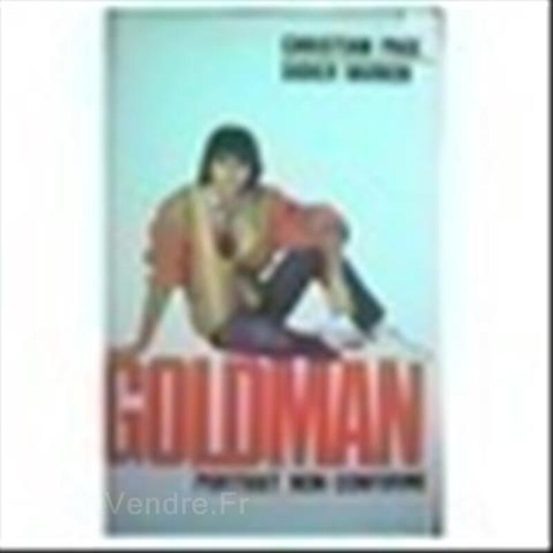 Livre Jean Jacques Goldman - Portrait non conforme 89267099
