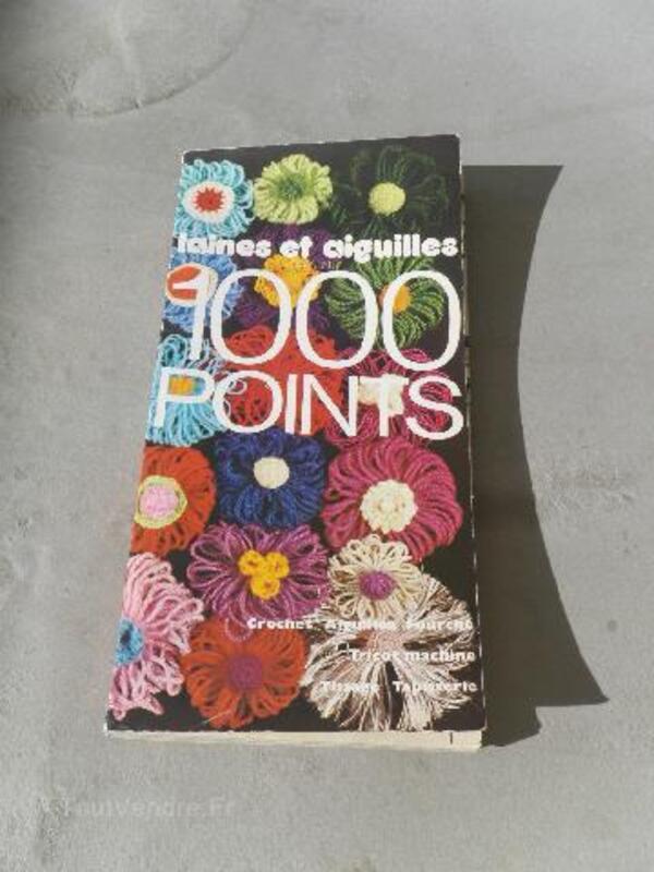 Livre Laines et aiguilles 1000 points 89544312