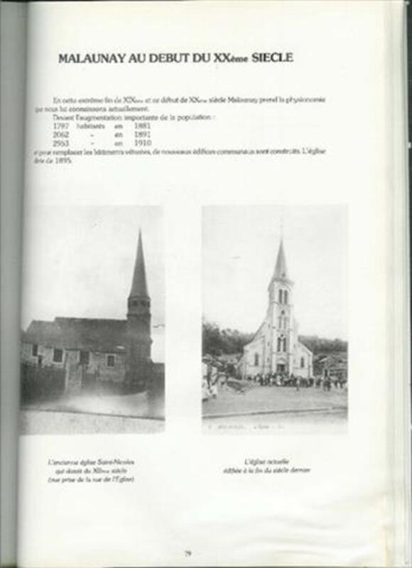 LIVRE MALAUNAY - ALAIN ALEXANDRE - 1985 87920169