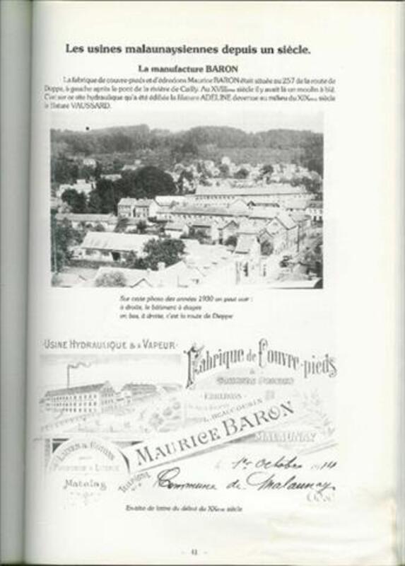 LIVRE MALAUNAY - ALAIN ALEXANDRE - 1985 87920170