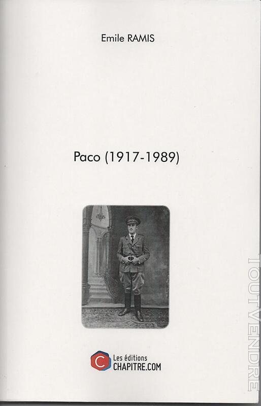 Livre PACO (1917-1989) 304184299