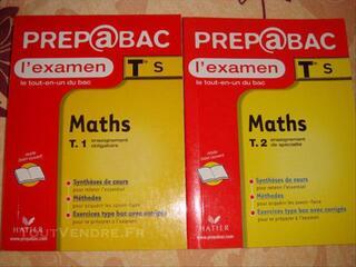 Livre préparation BAC S Maths
