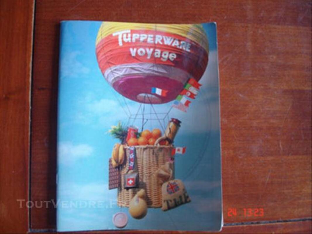 Livre recettes tupperware voyage 76622023