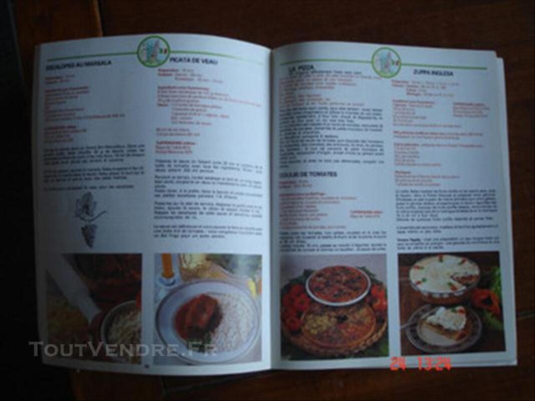 Livre recettes tupperware voyage 76622024