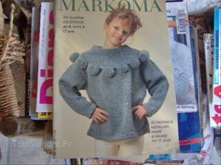 Livre tricot MARKOMA enfant