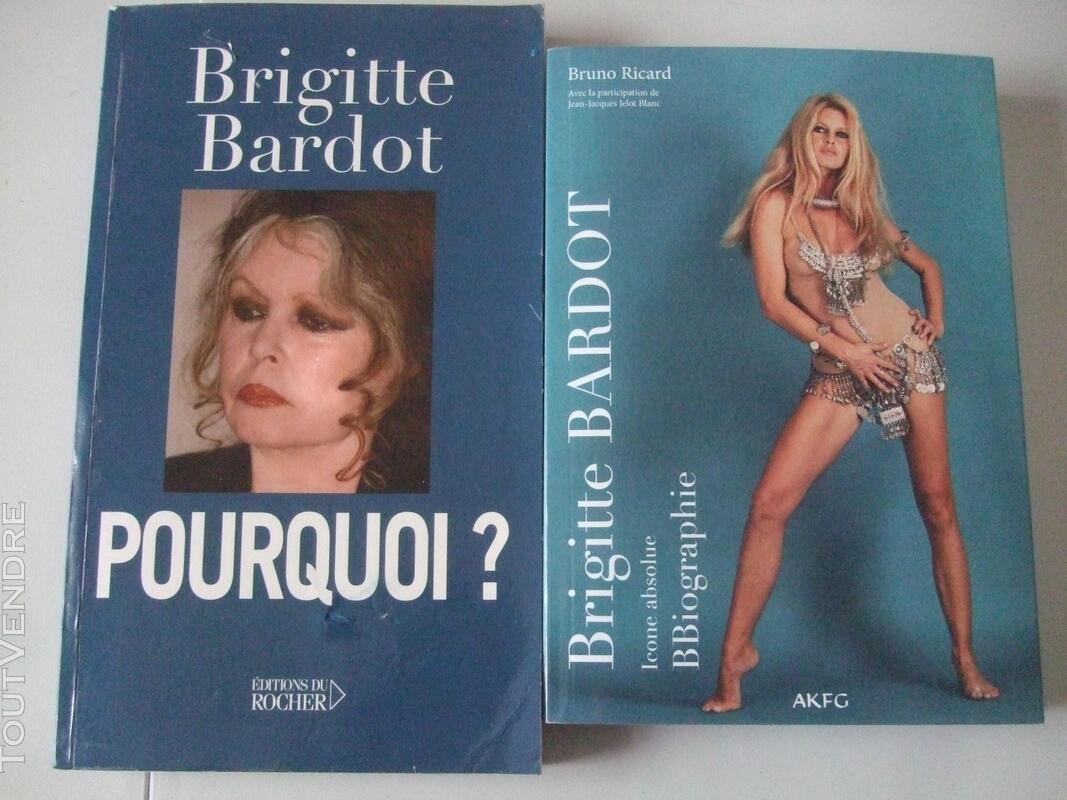LIVRES DE BRIGITTE BARDOT 644184157
