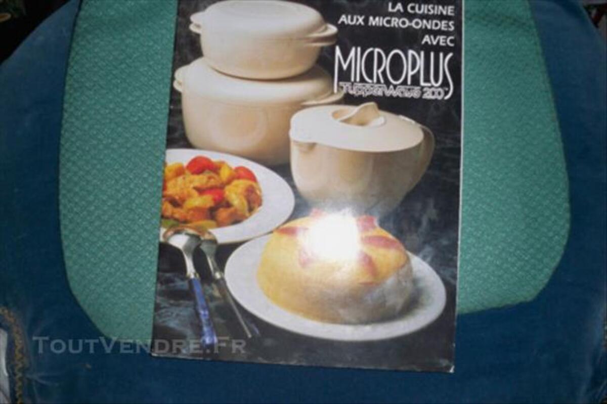 Livres de cuisine au micro ondes Tupperware 77423589